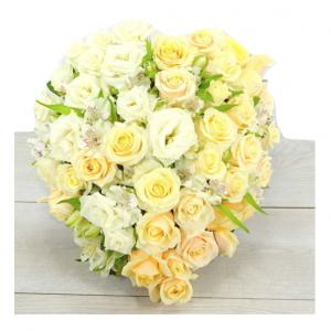 Création florale pour un deuil
